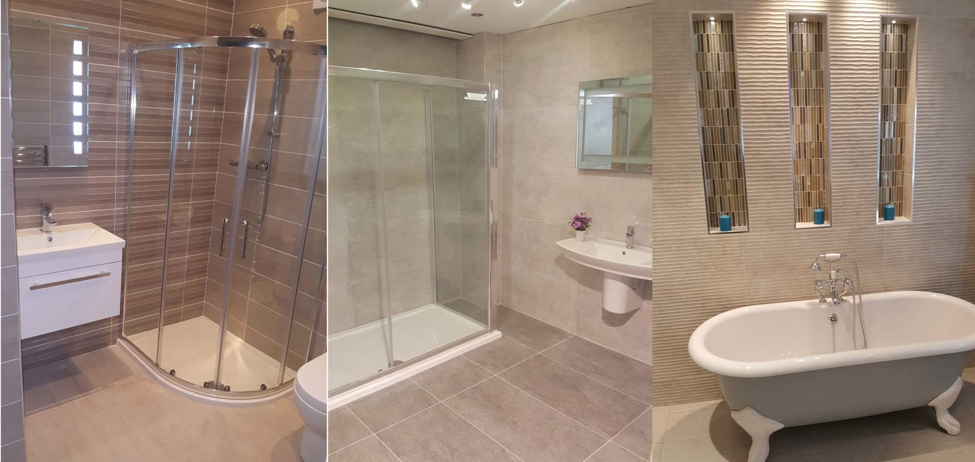 Bathrooms by North West Tiles & Timber, Co. Leitrim, Ireland
